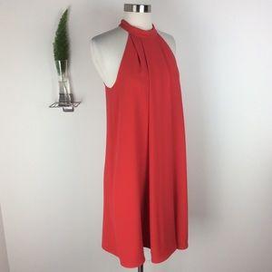 Tara Jarmon Gorgeous Red Halter Dress Size (36)
